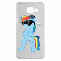 Чохол для Samsung A5 2016 Rainbow Dash Cool - FatLine