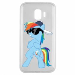 Чохол для Samsung J2 2018 Rainbow Dash Cool - FatLine