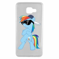 Чохол для Samsung A7 2016 Rainbow Dash Cool - FatLine