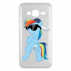 Чохол для Samsung J3 2016 Rainbow Dash Cool - FatLine