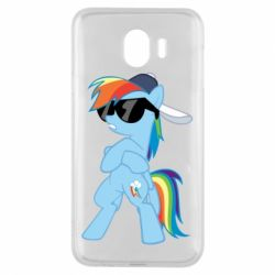 Чохол для Samsung J4 Rainbow Dash Cool - FatLine