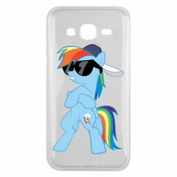 Чохол для Samsung J5 2015 Rainbow Dash Cool - FatLine