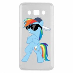Чохол для Samsung J5 2016 Rainbow Dash Cool - FatLine