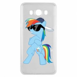 Чохол для Samsung J7 2016 Rainbow Dash Cool - FatLine