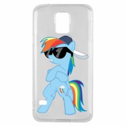 Чохол для Samsung S5 Rainbow Dash Cool - FatLine