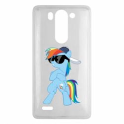 Чохол для LG G3 Mini/G3s Rainbow Dash Cool - FatLine