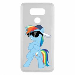 Чохол для LG G6 Rainbow Dash Cool - FatLine