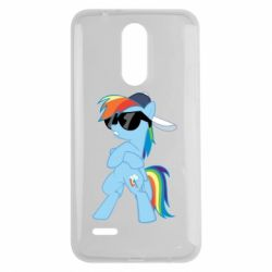 Чохол для LG K7 2017 Rainbow Dash Cool - FatLine