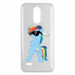 Чохол для LG K8 2017 Rainbow Dash Cool - FatLine