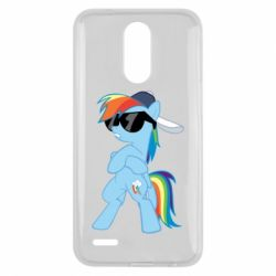 Чохол для LG K10 2017 Rainbow Dash Cool - FatLine