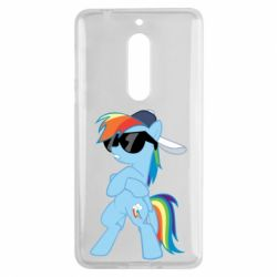 Чохол для Nokia 5 Rainbow Dash Cool - FatLine
