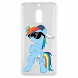 Чохол для Nokia 6 Rainbow Dash Cool - FatLine