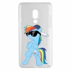 Чохол для Meizu 15 Plus Rainbow Dash Cool - FatLine
