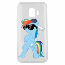 Чохол для Samsung J2 Core Rainbow Dash Cool - FatLine