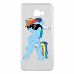 Чохол для Samsung J4 Plus 2018 Rainbow Dash Cool - FatLine