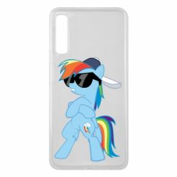 Чохол для Samsung A7 2018 Rainbow Dash Cool - FatLine