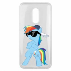 Чохол для Meizu 16 plus Rainbow Dash Cool - FatLine