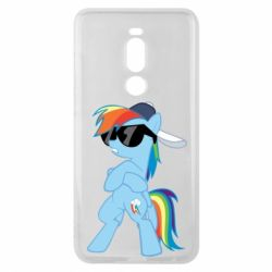 Чохол для Meizu Note 8 Rainbow Dash Cool - FatLine