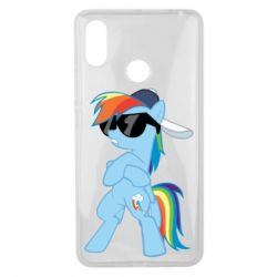Чохол для Xiaomi Mi Max 3 Rainbow Dash Cool - FatLine