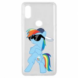 Чохол для Xiaomi Mi Mix 3 Rainbow Dash Cool - FatLine