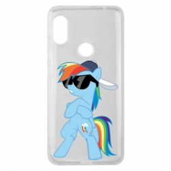 Чохол для Xiaomi Redmi Note 6 Pro Rainbow Dash Cool - FatLine