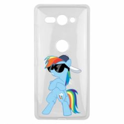 Чохол для Sony Xperia XZ2 Compact Rainbow Dash Cool - FatLine