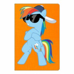 Блокнот А5 Rainbow Dash Cool - FatLine