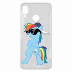 Чохол для Huawei P Smart Plus Rainbow Dash Cool - FatLine