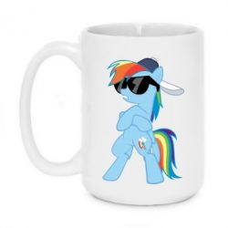Кружка 420ml Rainbow Dash Cool - FatLine