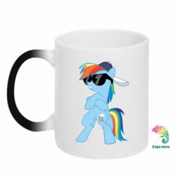 Кружка-хамелеон Rainbow Dash Cool - FatLine