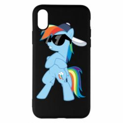 Чохол для iPhone X Rainbow Dash Cool - FatLine