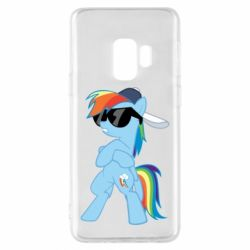 Чохол для Samsung S9 Rainbow Dash Cool - FatLine