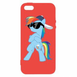 Чохол для iphone 5/5S/SE Rainbow Dash Cool - FatLine