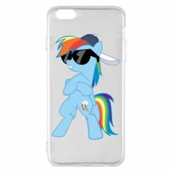 Чохол для iPhone 6 Plus/6S Plus Rainbow Dash Cool - FatLine