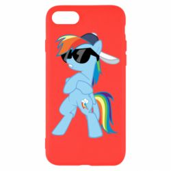 Чохол для iPhone 8 Rainbow Dash Cool - FatLine
