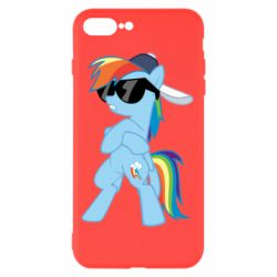 Чохол для iPhone 8 Plus Rainbow Dash Cool - FatLine