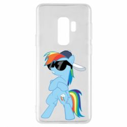 Чохол для Samsung S9+ Rainbow Dash Cool - FatLine