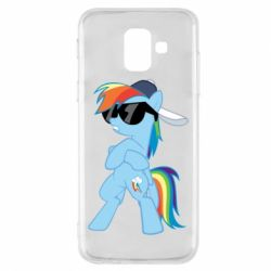 Чохол для Samsung A6 2018 Rainbow Dash Cool - FatLine