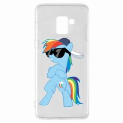 Чохол для Samsung A8+ 2018 Rainbow Dash Cool - FatLine