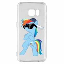 Чохол для Samsung S7 Rainbow Dash Cool - FatLine