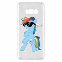 Чохол для Samsung S8 Rainbow Dash Cool - FatLine