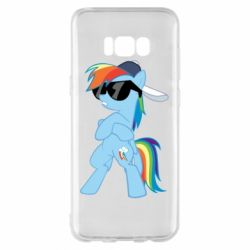 Чохол для Samsung S8+ Rainbow Dash Cool - FatLine