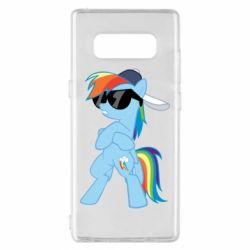 Чохол для Samsung Note 8 Rainbow Dash Cool - FatLine
