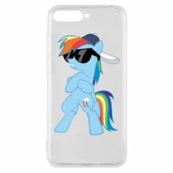 Чохол для Huawei Y6 2018 Rainbow Dash Cool - FatLine