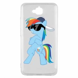Чохол для Huawei Y6 Pro 2018 Rainbow Dash Cool - FatLine