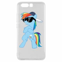 Чохол для Huawei P10 Rainbow Dash Cool - FatLine
