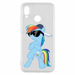 Чохол для Huawei P20 Lite Rainbow Dash Cool - FatLine