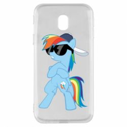 Чохол для Samsung J3 2017 Rainbow Dash Cool - FatLine