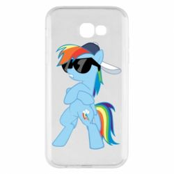 Чохол для Samsung A7 2017 Rainbow Dash Cool - FatLine
