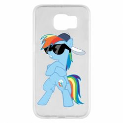Чохол для Samsung S6 Rainbow Dash Cool - FatLine
